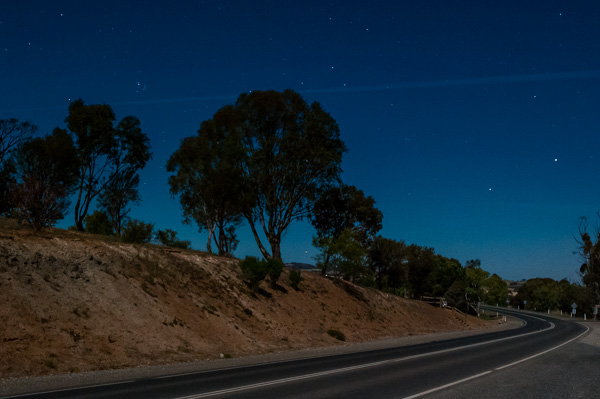 Moonlight at Kapunda