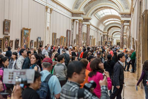 Mona Lisa corridor