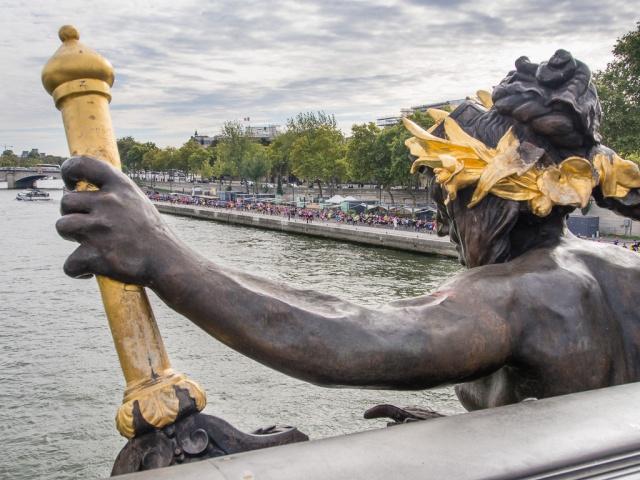 20 Kilomètres de Paris from Pont Alexander III