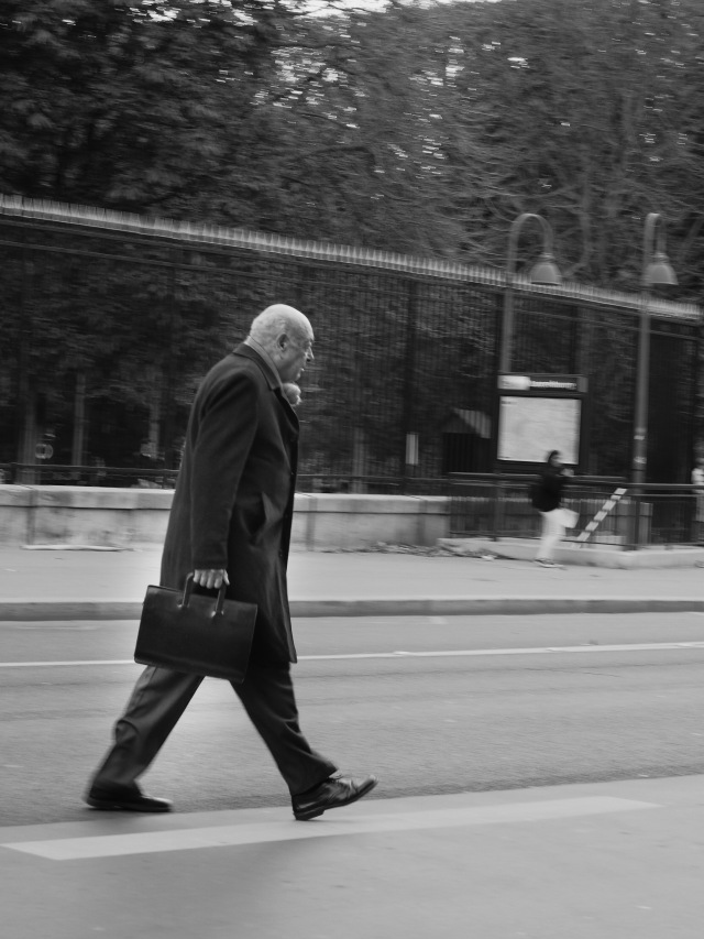 Stepping out near the Luxembourg Gardens