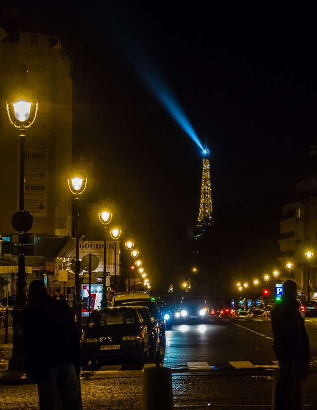 The Eiffel Tower from Place du Pantheon