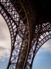 Support leg of the Eiffel Tower
