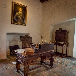 Sir Walter Raleigh's desk
