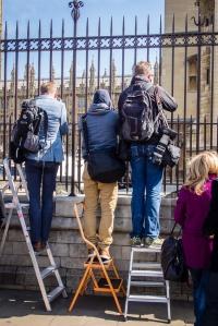 Paparazzi in London