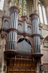 The main organ inside Southwark Cathedral was completed in 1897