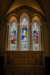 Stained glass windows in Southwark Cathedral