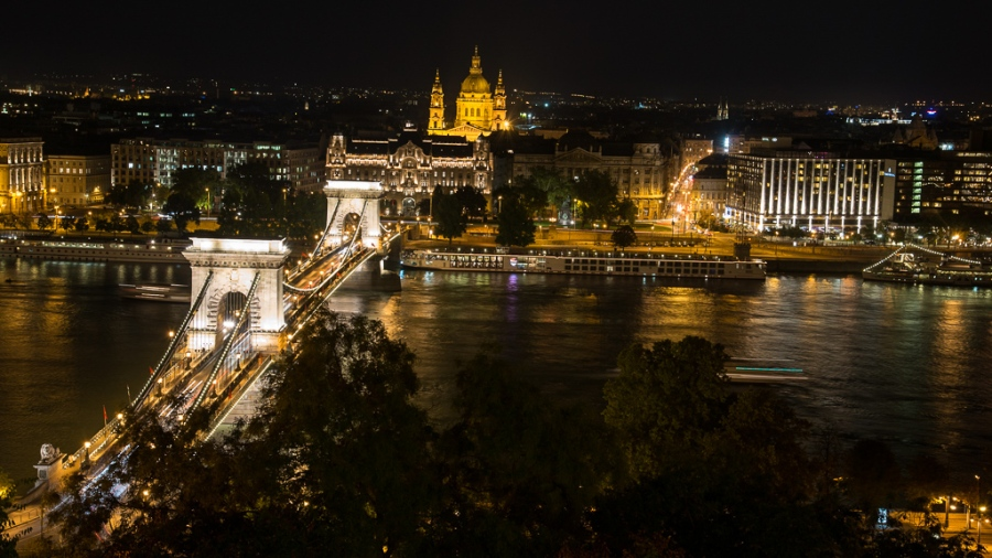 Chain Bridge in Budapest